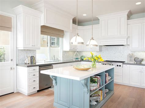 blue kitchen island cottage kitchens electric co and blue lantern on pinterest