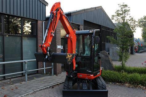 kubota    spec mini excavator excavator verkooyen machines