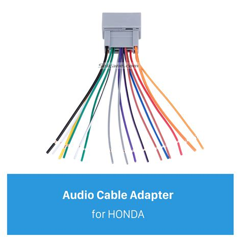 Car Audio Cable Wiring Harness Adapter For Honda Accord Fit