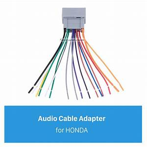Car Audio Cable Wiring Harness Adapter For 08 Honda Accord  Fit