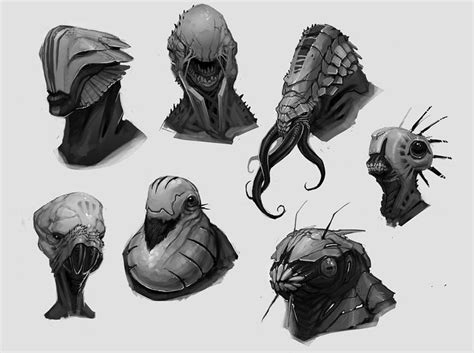 17 Best Images About Concept Art Advanced Alien And