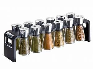 Soporte rack para 12 especias Gadgets & Cuina