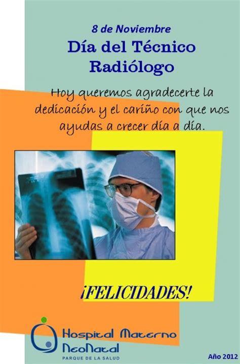 Día Del Radiólogo  Noviembre 8