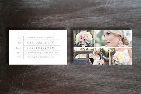 photographer business cards business card templates