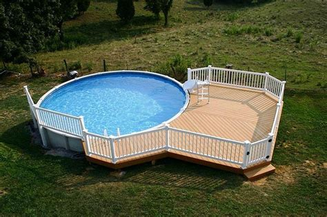 Above Ground Pool Deck Gallery by Above Ground Pool Deck Ideas From Wood For Relaxation Area