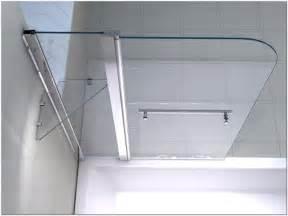 ikea flur ideen duschabtrennung badewanne duschwand faltwand glas hauptdesign