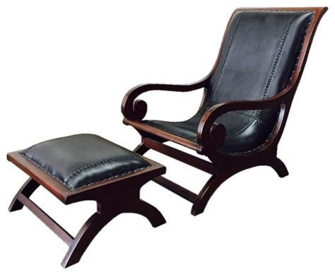 d leather lazy chair and ottoman rustic indoor