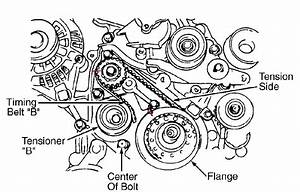 Diagram For Timing Marks For Crank Shaft And Oil Pump For