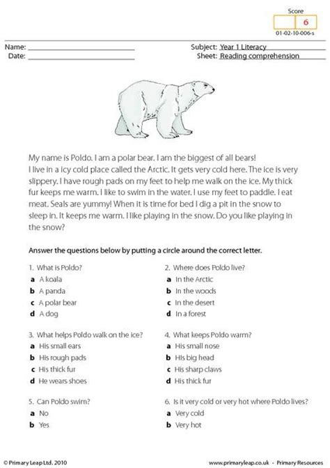 students read the text and answer the choice