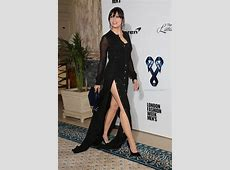 Daisy Lowe risks flashing EVERYTHING as she puts on leggy