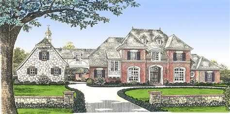 classic french country manor home   french country house plans french country luxury