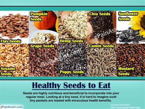 Healthy Seed Bar healthy seeds to eat 10 seeds to include in the diet for