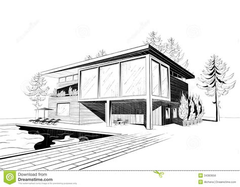 modern house sketches inspiration excellent modern home architecture sketches on home design