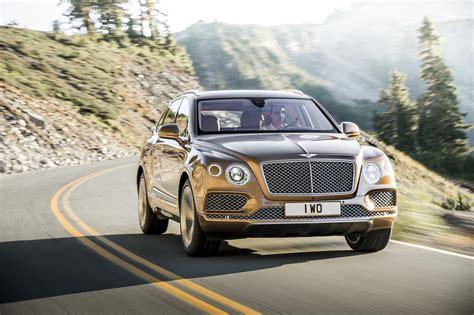2017 Bentley Bentayga Is World's Most Powerful, Most