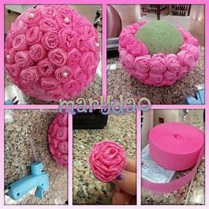 17 Best ideas about Flower Ball Centerpiece on Pinterest