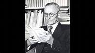 Hermann Hesse liest -Über das Alter- Teil 1 von 2 - YouTube