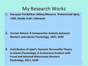 Slides on Ideas on personality(Iqbal & freud)