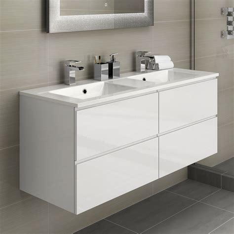 Modern Bathroom Vanity Units Uk by White Basin Bathroom Vanity Unit Sink Storage