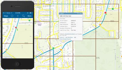 leak survey collector arcgis solutions  gas
