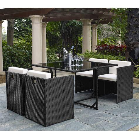 wade logan dunlap 5 piece outdoor dining set with cushion