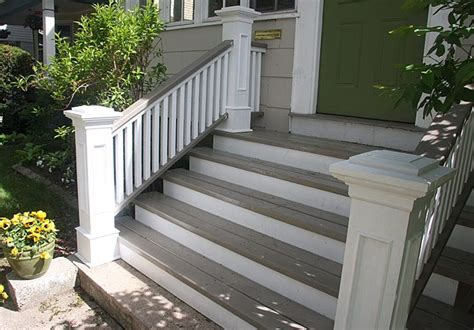images of front steps front steps railings and newel posts porch pinterest flats step treads and house