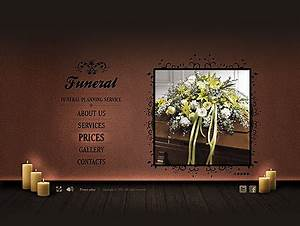 funeral service easy flash template id300111263 With funeral presentation template