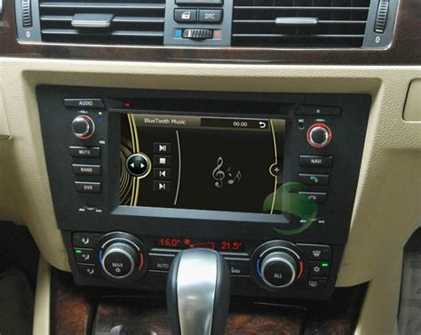 bmw e90 radio car dvd player for bmw 3 series e90 automatic air conditioner with gps radio tv bluetooth
