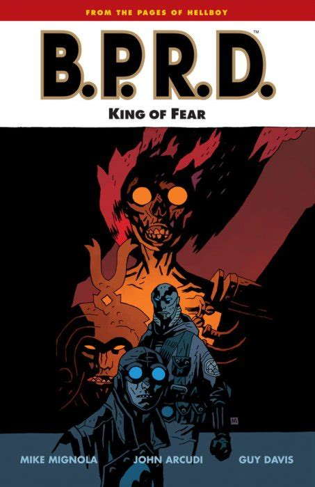 b p r d king of fear 1 comics
