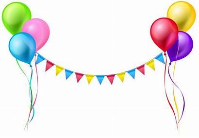 Clipart Graduation Streamer Transparent Clip Balloons Balloon