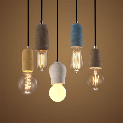 country style hanging light fixtures vintage retro industrial pendant luminaire light american