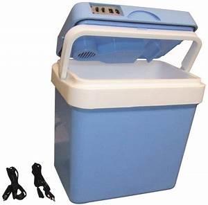 Frigo Allume Cigare : refrigerateur portable 24l 12v 220v glaciere electrique ~ Premium-room.com Idées de Décoration