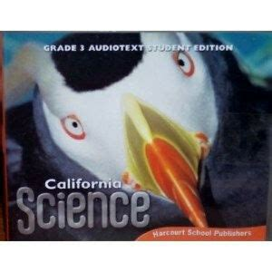 3rd Grade 3 Harcourt California Science Audio Text Student Edition Cd Rom Ebay
