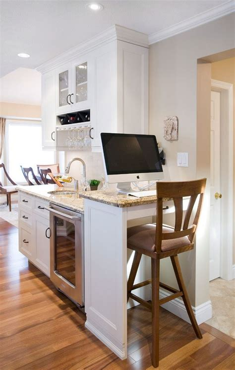 9 Ways To Install A Computer Station In Your Kitchen