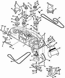46 U0026quot  Mower Deck Diagram  U0026 Parts List For Model 917258870