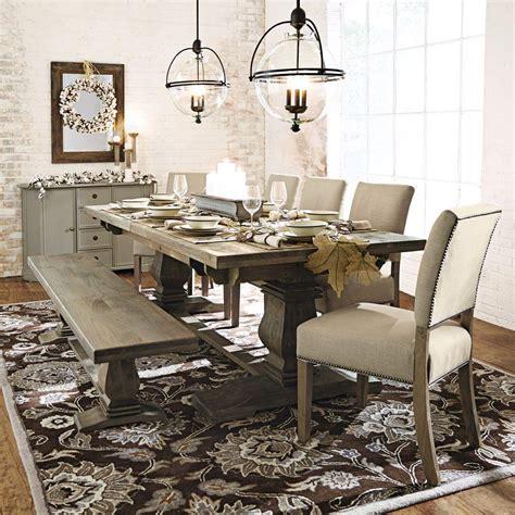 antique grey dining table home decorators collection aldridge antique grey wood