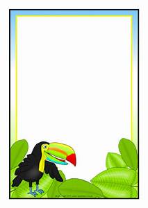 Micorsoft Word Templates Toucan A4 Page Borders Sb9696 Sparklebox