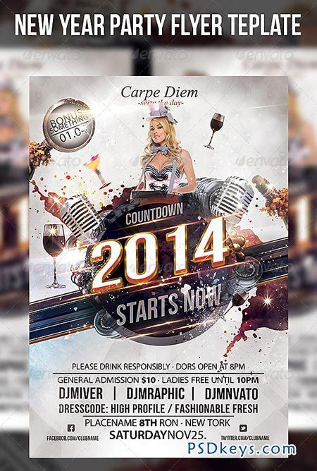 free new years flyer template new year flyer template 6254523 187 free photoshop vector stock image via torrent
