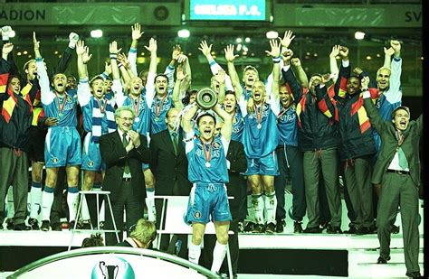 Chelsea's victorious European Cup Winners' Cup campaign 20 ...