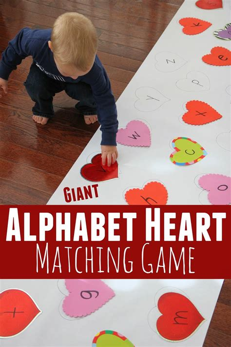 preschool valentine party games toddler approved alphabet matching 379