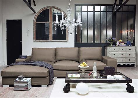 maison du canapé maison du monde salon interieur