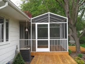 Roof for Screen Porch Enclosure