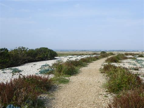 Path along the shingle ridge, Pagham © Stefan Czapski