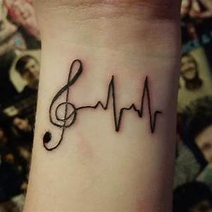 24+ Music Note Tattoo Designs, Ideas | Design Trends ...