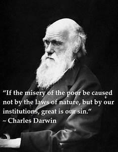 Charles Darwin ... Social Darwinism Hitler Quotes