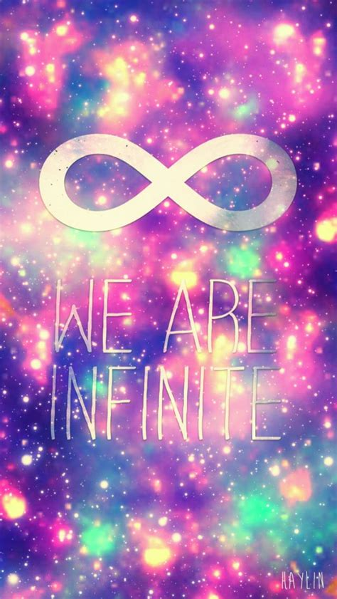 Infinite Background Infinity Wallpaper Girly Wallpapers