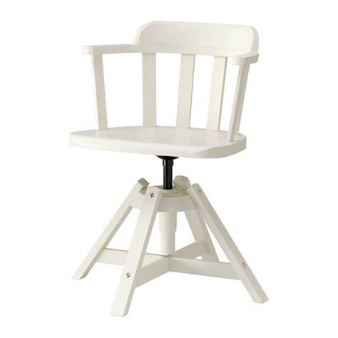 chaise en bois ikea feodor chaise pivotante accoudoirs blanc ikea