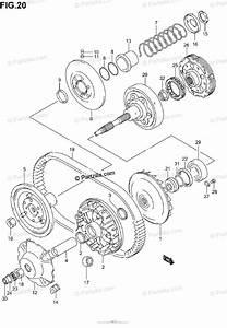 Suzuki Atv 2003 Oem Parts Diagram For Transmission 1
