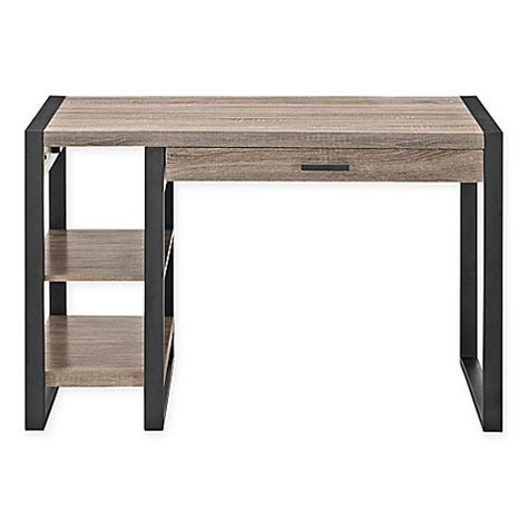 bed bath and beyond desk l buy urban tech computer desk in brown from bed bath beyond