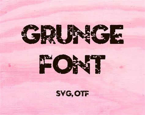 distressed font svg distressed alphabet letters svg grunge etsy distressed font lettering