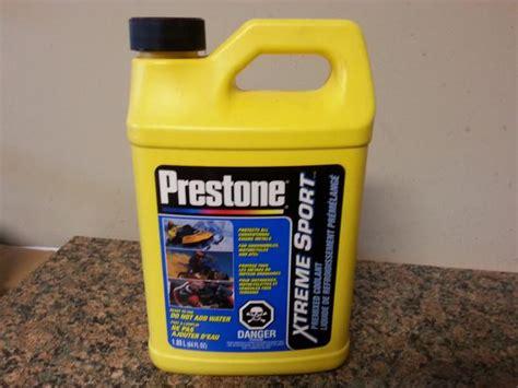 Prestone Premixed Coolant For Atv, Motorcycle Or
